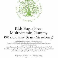 Kids Sugar Free Multivtamin - Strawberry